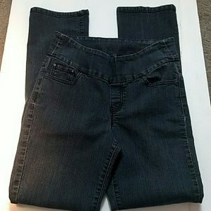 Jag Jeans High Rise Straight Jeans